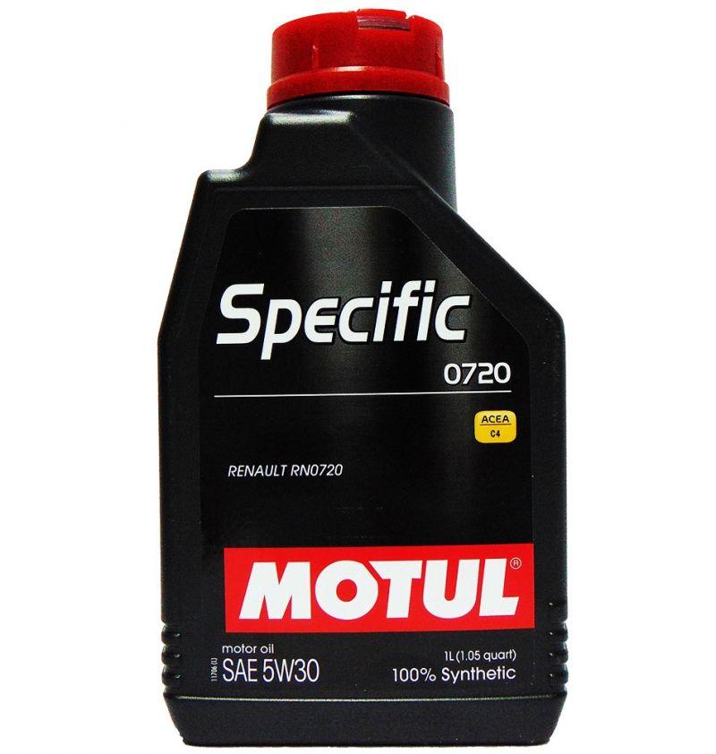 OFFERTA OLIO MOTORE MOTUL SPECIFIC 0720 SAE 5W30 100% SINTETICO 1L