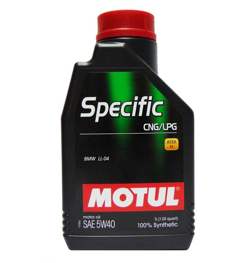 OFFERTA OLIO MOTORE MOTUL SPECIFIC CNG/LPG 100% SINTETICO SAE 5W40 1L