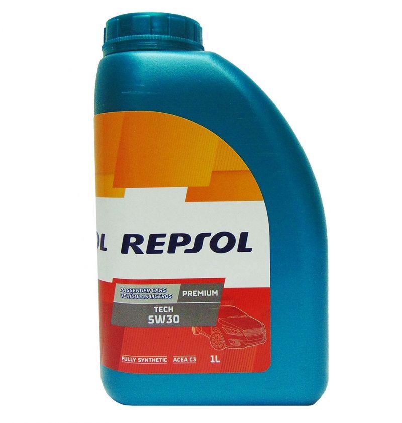 OFFERTA OLIO MOTORE REPSOL TECH 5W30 PREMIUM FULL SYNTHETIC 1L