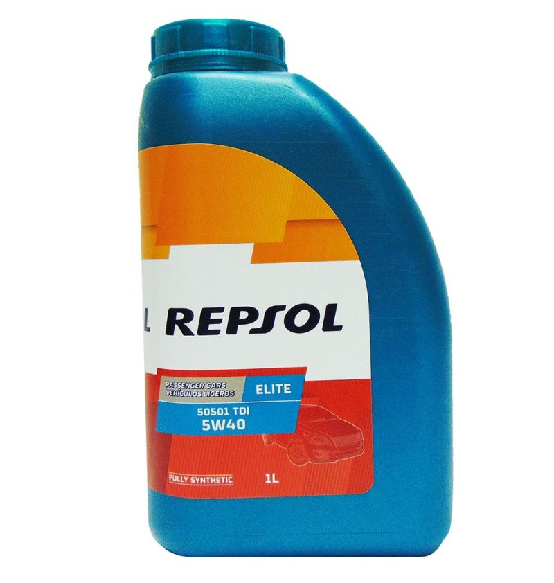 OFFERTA OLIO MOTORE REPSOL 50501 TDI 5W40 ELITE FULLY SYNTHETIC 1L