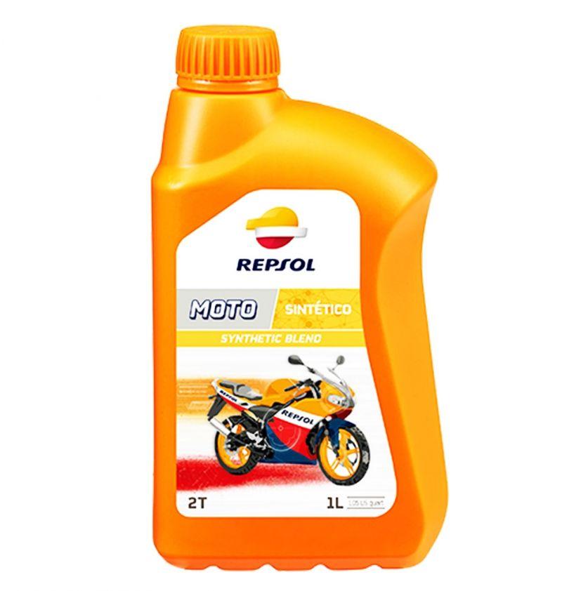 OFFERTA OLIO MOTORE REPSOL MOTO 2T SYNTHETIC BLEND 1L