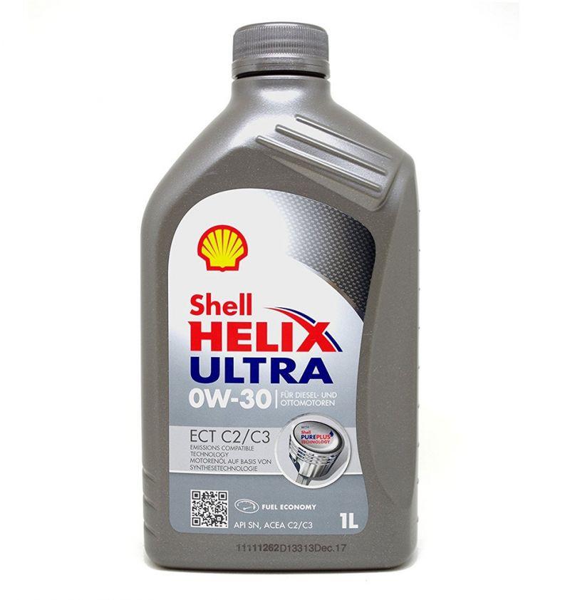 OFFERTA OLIO MOTORE SHELL HELIX ULTRA ECT C2/C3 0W-30 1L