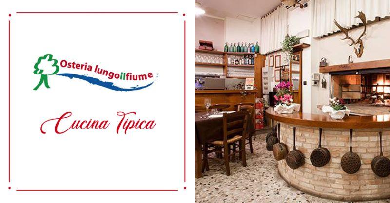 OSTERIA LUNGO IL FIUME offerta cucina tipica corridionia - occasione pizzeria corridonia