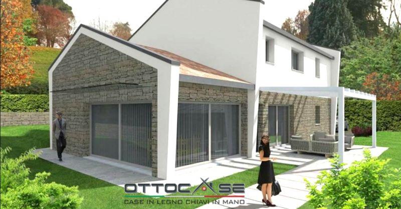 OTTOCASE offerta progettazione case in legno Padova - occasione vendita case in legno Padova