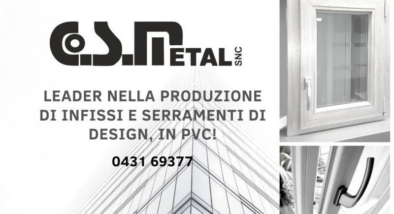 Occasione produzione di serramenti in PVC a Udine - promozione vendita e installazione di porte e finestre in PVC Udine