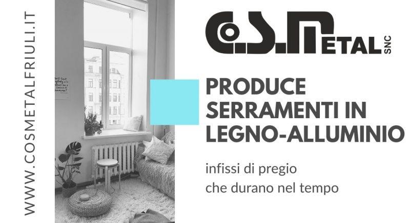 Vendita infissi in legno alluminio a Udine - Occasione realizzazione serramenti su misura a Udine