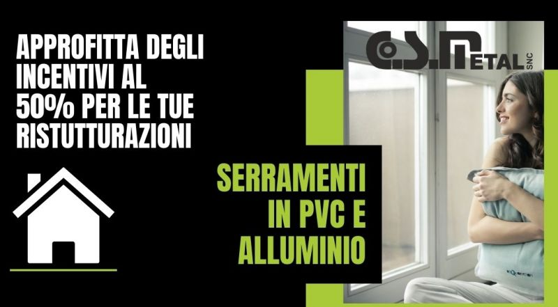 Offerta sostituzione serramenti in pv e alluminio a Udine – Occasione detrazione fiscale per ristrutturazione a Udine