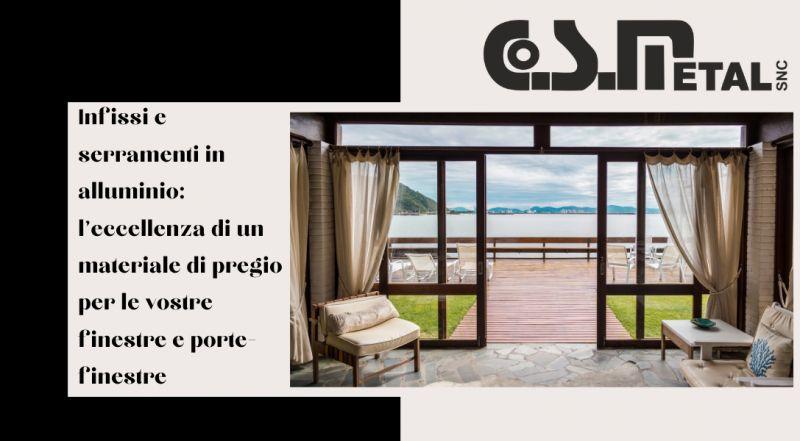 Vendita produzione di infissi e serramenti di design in alluminio e pvc a Udine – offerta porte e finestre su misura in alluminio e pvc a Udine