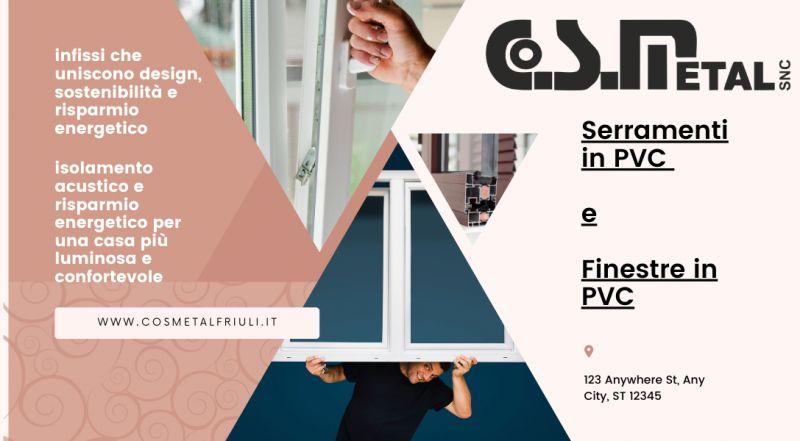 Occasione vendita di Infissi e serramenti in PVC su misura a Udine – Offerta vendita e installazione di infissi e serramenti in pvc a Udine