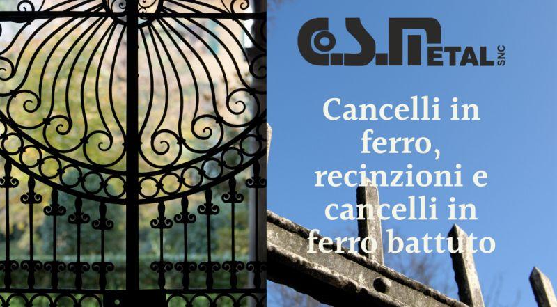 Offerta produzione cancelli in ferro su misura a Udine – vendita recinzioni in ferro su misura a Udine