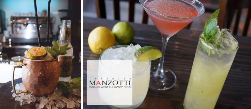 TERRAZZA MANZOTTI offerta aperitivo in terrazza canonica d adda - promozione happy hour estate