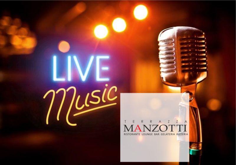 TERRAZZA MANZOTTI offerta musica live in terrazza - promozione musica dal vivo venerdi sera