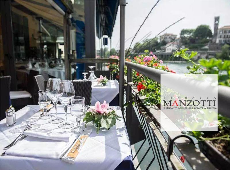 TERRAZZA MANZOTTI offerta ristorante aperto agosto 2019 - promozione agosto in citta
