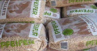 occasione vendita pellet austriaco fine prestagionale offerta vendita pellet scontato