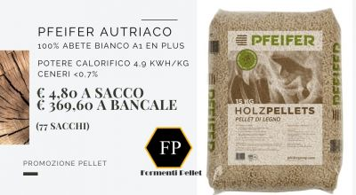 occasione pellet pfeifer austriaco in offerta a novara varese milano verbania vendita pellet scontato a novara varese milano verbania