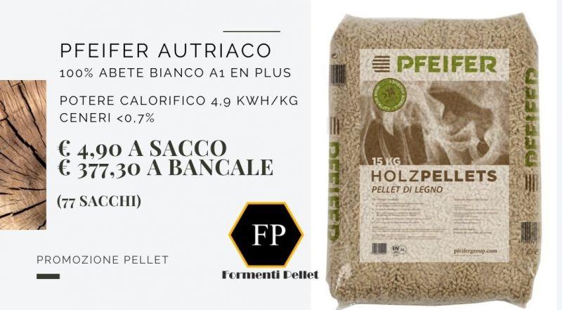 Occasione pellet pfeifer austriaco in offerta a Novara Varese Milano Verbania– vendita pellet scontato a Novara Varese Milano Verbania