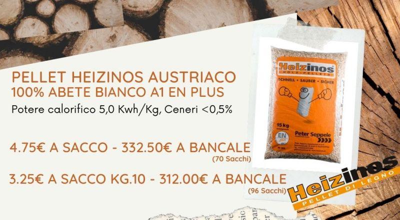 Offerta pellet austriaco heizinos a Vercelli Milano Verbania Novara – Occasione pellet in svendita a Vercelli Milano Verbania Novara