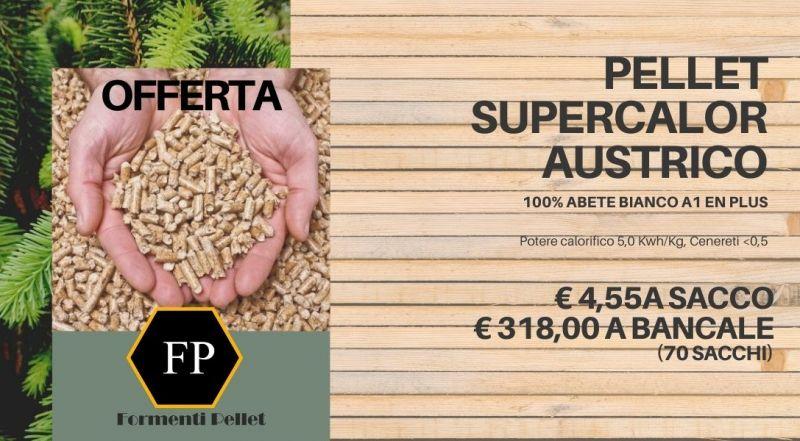 Occasione vendita pellet austriaco supercalor a Novara Varese Milano Verbania – Offerta pellete in offerta a Novara Varese Milano Verbania