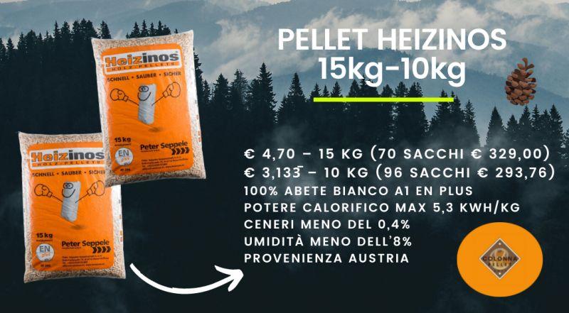 Offerta pellet di abete HEIZINOS in offerta a Novara a Varese a Verbania a Milano – Occasione vendita pellet scontato a Novara a Varese a Verbania a Milano