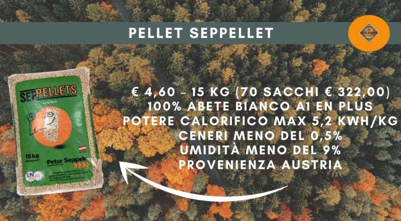 Offerta pellet di abete PELLET SEPPELLET in offerta a Novara a Varese a Verbania a Milano – Occasione vendita pellet di abete bianco scontato a Novara a Varese a Verbania a Milano