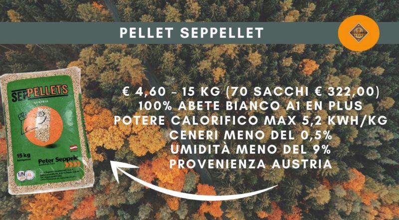 Offerta pellet PELLET SEPPELLET in offerta a Novara a Varese a Verbania a Milano –  vendita pellet di abete bianco scontato a Novara a Varese a Verbania a Milano