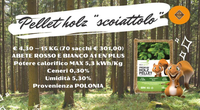 Offerta pellet di abete Pellet holz scoiattolo a Novara a Varese a Verbania a Milano – Vendita pellet di altissima qualità scontato a Novara a Varese a Verbania a Milano