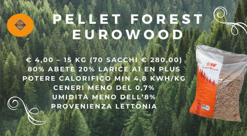 Offerta pellet di abete PELLET FOREST EUROWOOD in offerta a Novara a Varese a Verbania a Milano – occasione servizio di consegna a domicilio di pellet scontato a Novara a Varese a Verbania a Milano