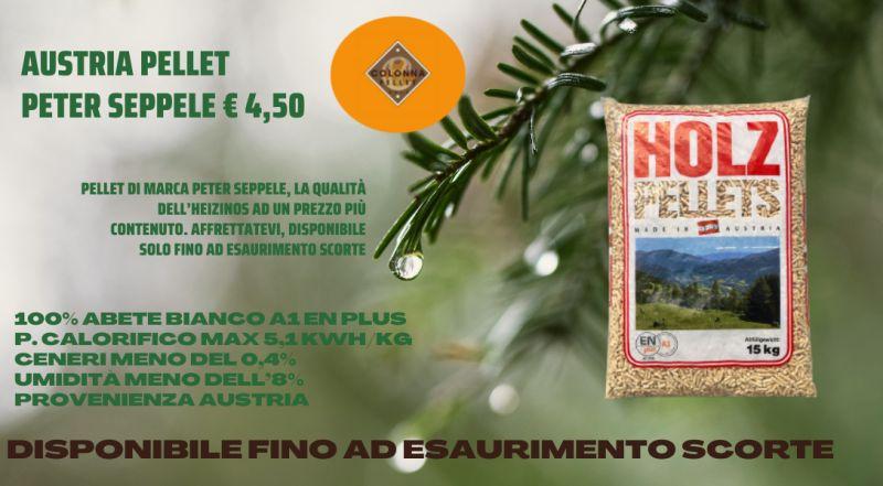 Vendita pellet PETER SEPPELE a Novara a Varese a Milano a Verbania – vendita pellet a prezzo conveniente a Novara a Varese a Milano a Verbania