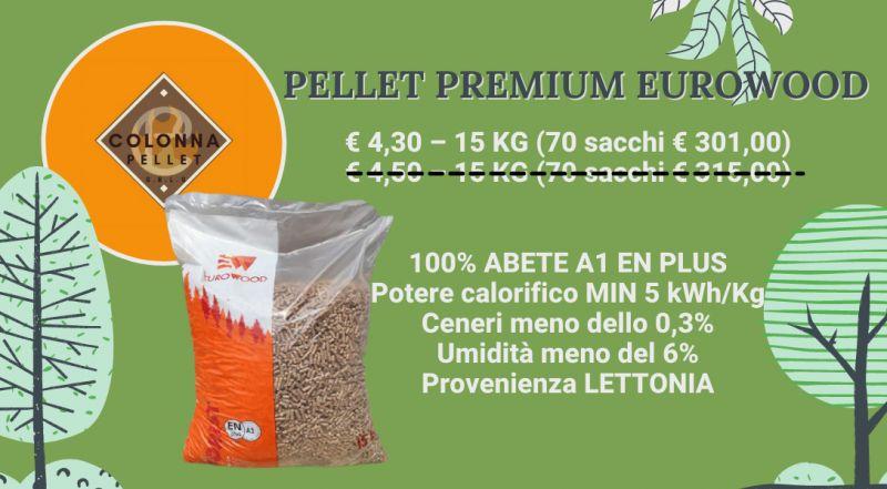 Vendita pellet Premium Eurowood a Novara a Verbania a Milano a Varese – vendita pellet in offerta a Novara a Verbania a Milano a Varese
