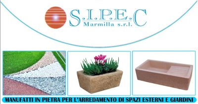 sipec marmilla mogoro offerta vendita manufatti in pietra per arredo urbano e giardini