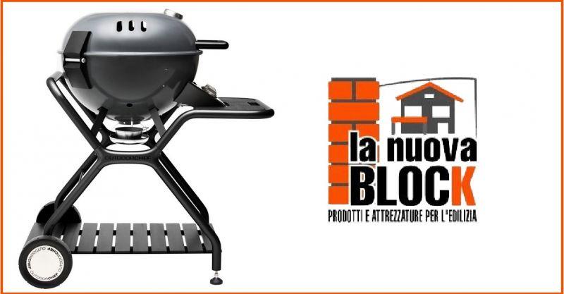 LA NUOVA BLOCK - Offerta vendita online BARBECUE A GAS ASCONA 570 GRIGIO