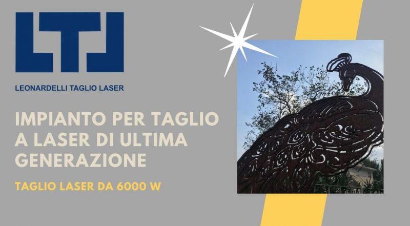 Occasione impianto per il taglio laser da 6000 w a Trento – offerta incisione laser a Trento