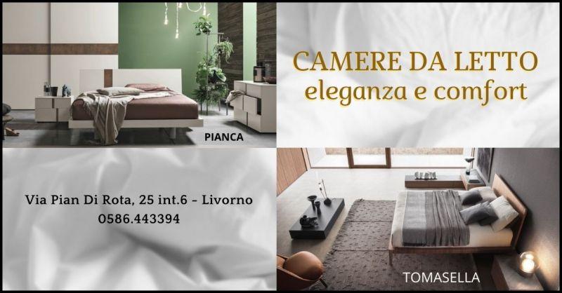 promozione idee e complementi arredo zona notte - offerta camere da letto Tomasella e Pianca