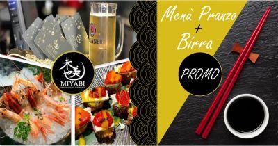 sushi miyabi offerta menu pranzo ristorante cucina giapponese quartu sant elena