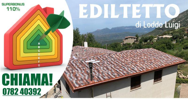 EDILTETTO - offerta superbonus  110 decreto rilancio per rifare il tetto