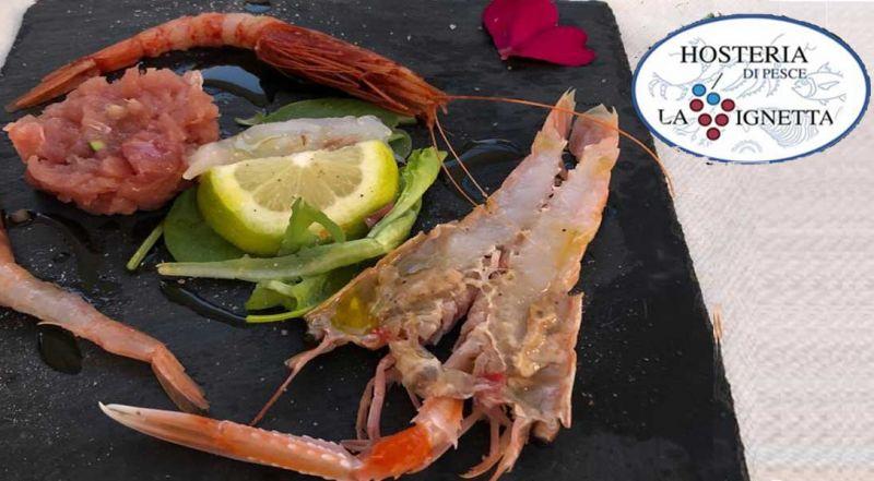 offerta menu degustazione Marino - Promozione di pesce pescato giornaliero Roma