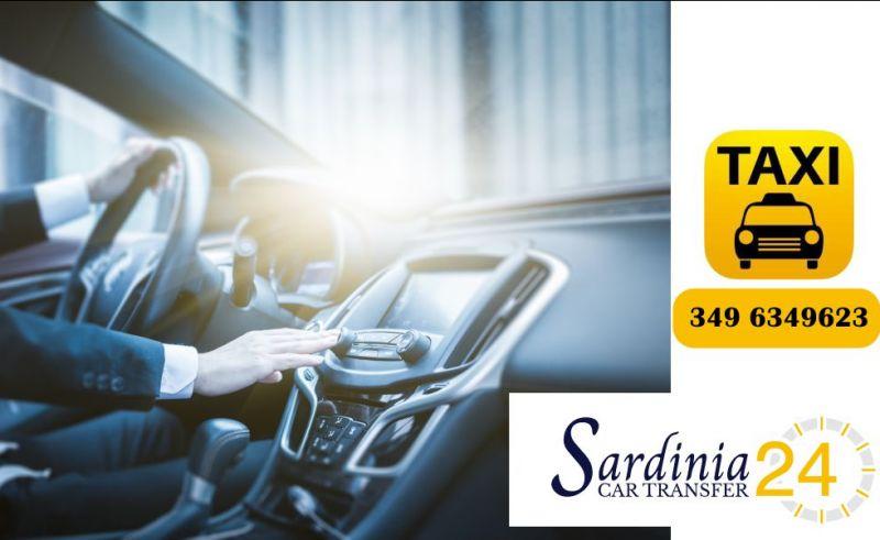 SARDINIA CAR TRANSFER  - offerta servizio taxi h24 Olbia Costa Smeralda