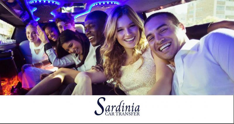 SARDINIA CAR TRANSFER  - offerta servizio noleggio limousine Olbia Costa Smeralda