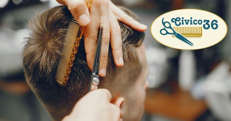 Civico 36 parruccheria uomo Ossi - offerta taglio capelli uomo alla moda