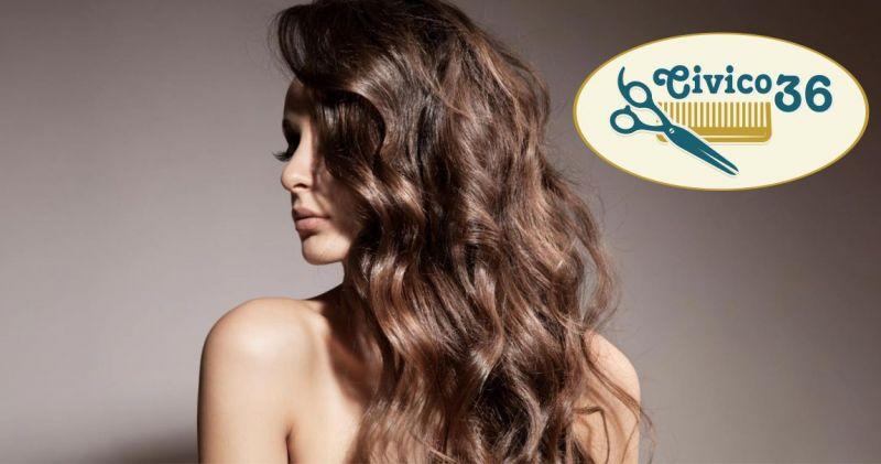 Civico 36  offerta trattamenti innovativi per la cura dei capelli uomo e donna