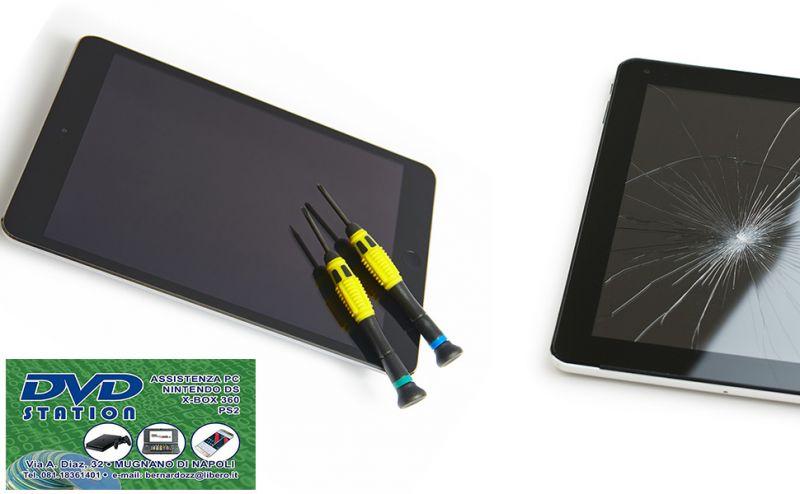 offerta riparazione tablet a Napoli - occasione assistenza sostituzione vetro schermo a Napoli