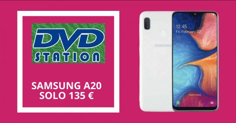 DVD STATION - occasione vendita smartphone samsung a20 in offerta napoli