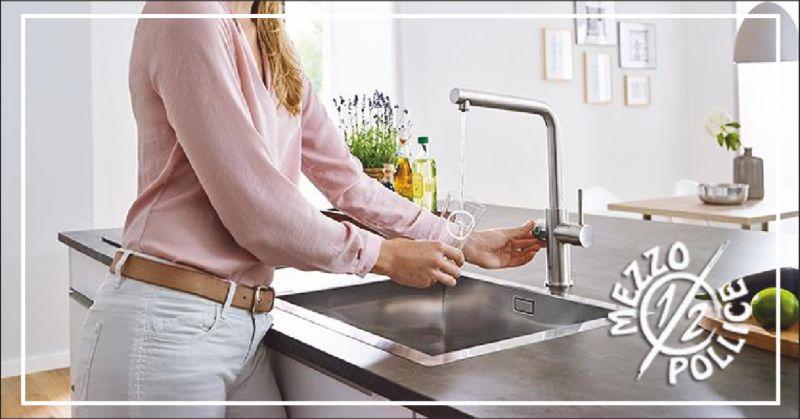 mezzo pollice offerta trattamento acqua di casa - occasione sistema filtrante acqua imperia