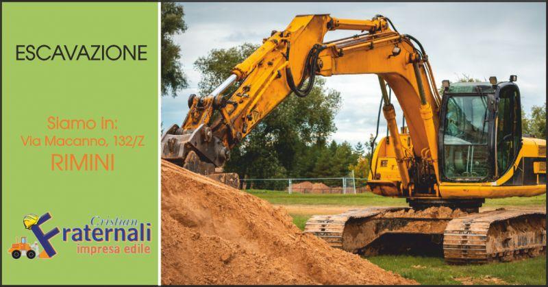impresa fraternali offerta escavazioni rimini - occasione macchine movimento terra rimini