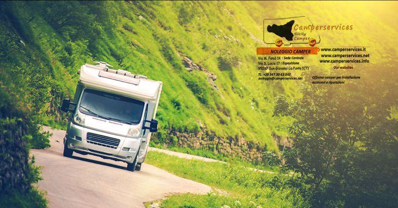 Offerta noleggio camper tour in Sicilia - occasione affitto camper viaggi sicilia