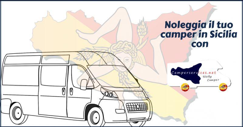 CAMPERSERVICES offerta noleggio camper palermo - occasione noleggio camper aeroporto catania