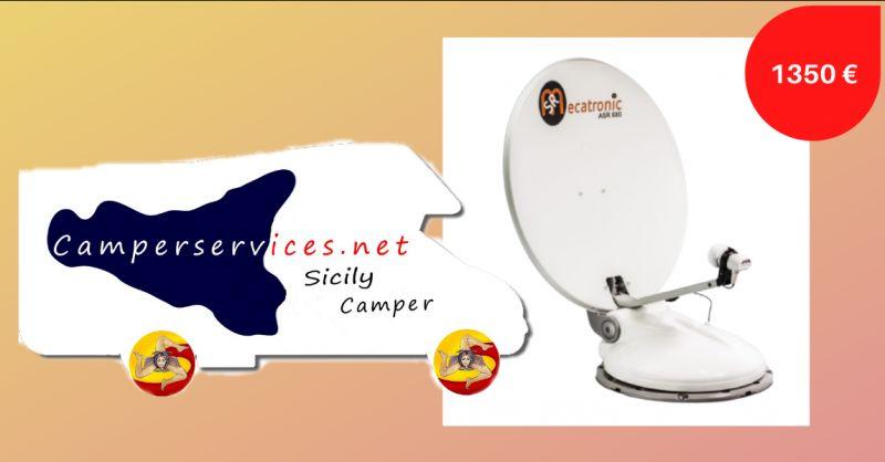 offerta antenna tv satellitare per camper - occasione vendita antenna parabolica camper catania