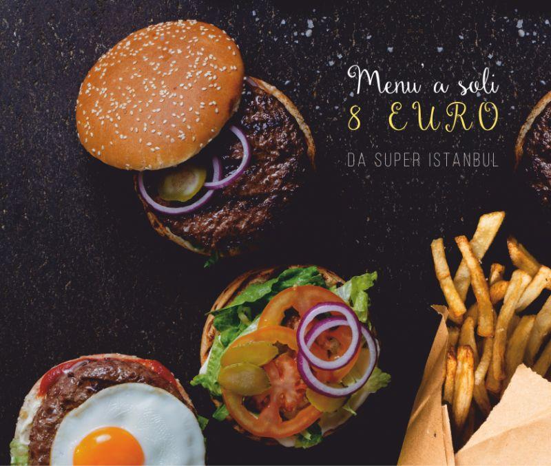 SUPER ISTANBUL offerta menu panino sesto san giovanni - promozione piadina patatine birra