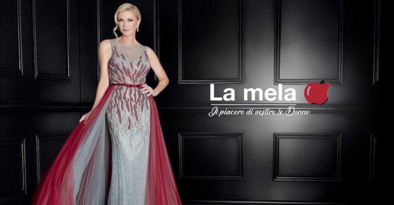 Offerta abiti da sera taglie comode Aprilia - Occasione abiti da cerimonia donna Latina