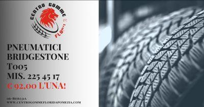 offerta pneumatici bridgestone 225 45 17 roma sud occasione gomme 225 45 17 albano laziale